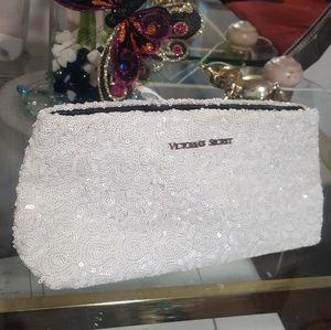 Victoria's secret white wallet forwoman